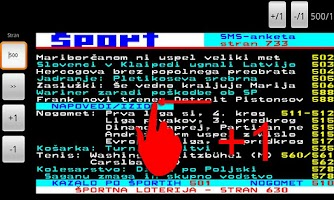 Screenshot of RTV Slovenija Teletekst