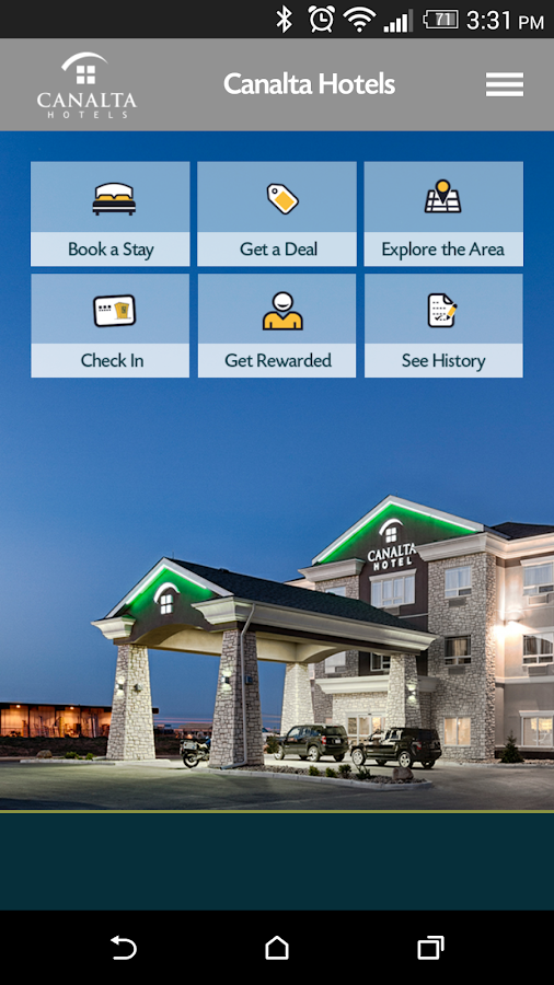 CanaltaHotels- screenshot