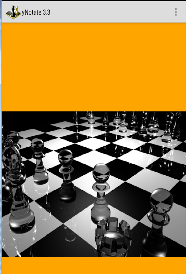 yNotate Chess Recorder - screenshot