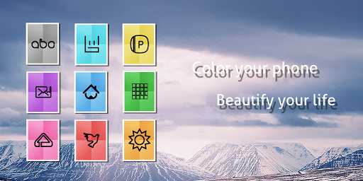 Bright And Colorful Icon Pack