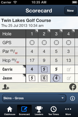 Twin Lakes Golf Course - screenshot