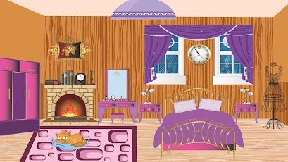 Fancy Bedroom Decoration Game Android Casual