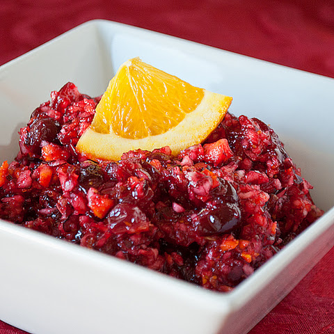 Cranberry-Orange Relish Recept | Yummly