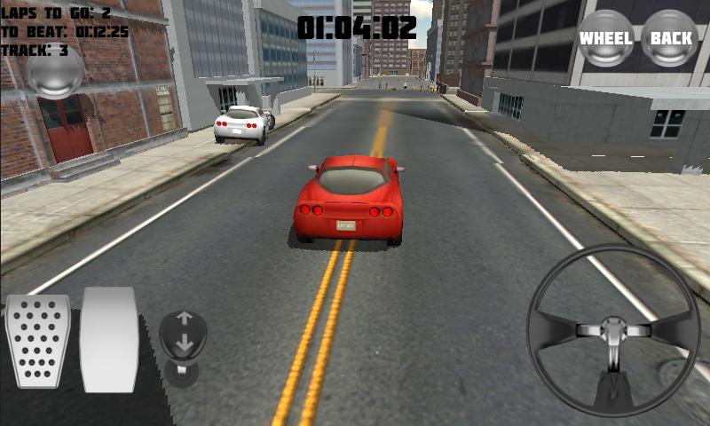 Thunder City Car Racing - screenshot