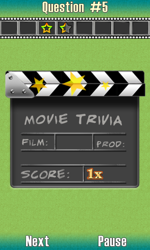 Movie Trivia - screenshot