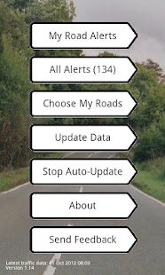 UK Traffic Alerts- screenshot thumbnail