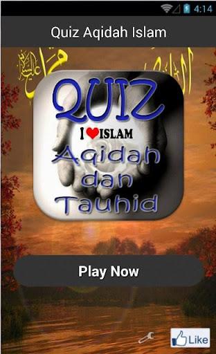 Quiz Aqidah Islam
