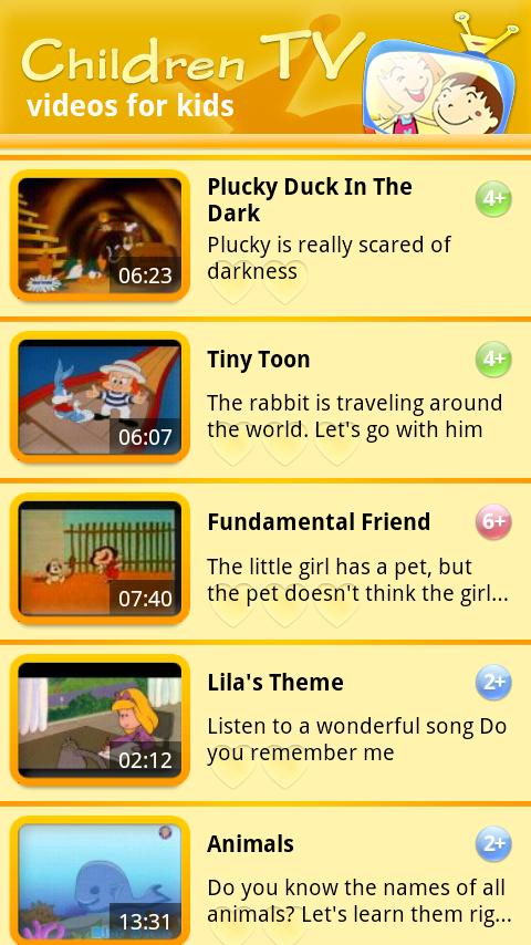 Children TV ~ videos for kids - screenshot