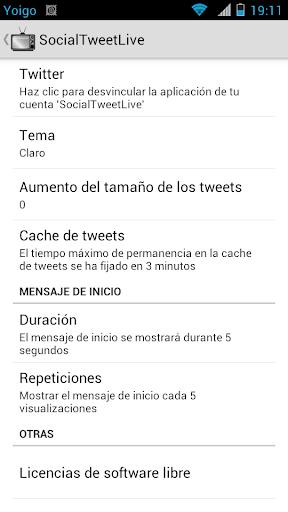 SocialTweetLive - Twitter Wall