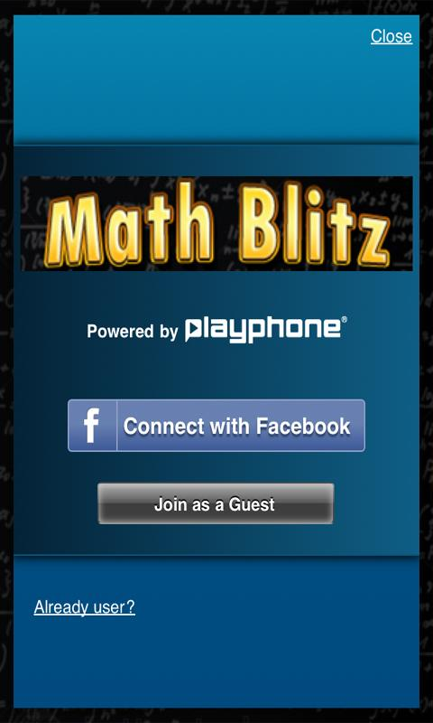 Math Blitz Plus - screenshot
