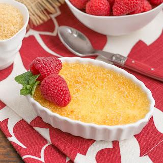 Classic Crème Brûlée.