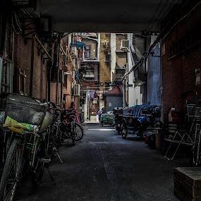 Art Of Street by Eddy Tan - City,  Street & Park  Street Scenes ( street, art, beijing, photography, china )
