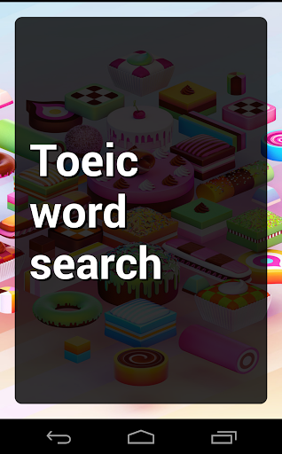 Toeic Word Search Puzzle