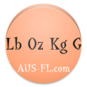 Pound Ounce Kilogram Gram Conv icon