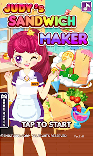 Judy's Sandwich Maker -cooking