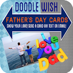 Best Dad Cards for Doodle Text