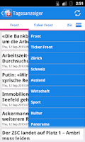 Screenshot of Schweiz News