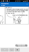Screenshot of XKCyanide LITE (Comic Reader)