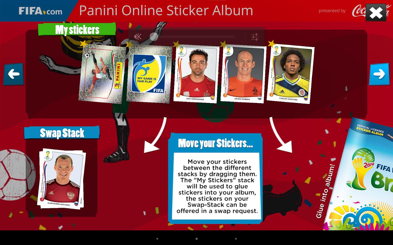 Panini Online Sticker Album