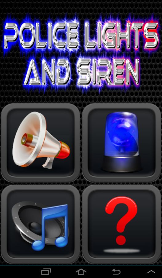Police Siren And Lights Pro - screenshot