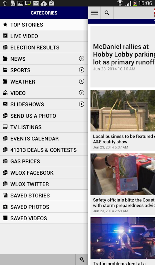 WLOX Local News- screenshot