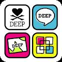 DEEP-Tropical Icon+WP icon