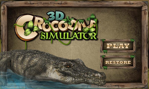 Real angry crocodile simulator