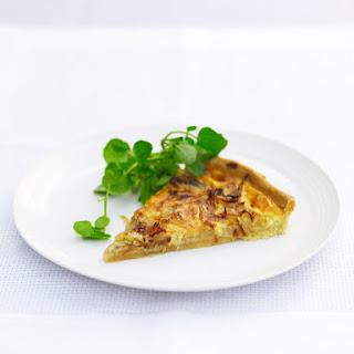 Onion and Roquefort Quiche