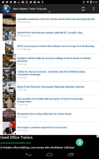 Quick USA News Reader
