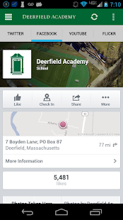 Deerfield Academy Mobile - screenshot thumbnail