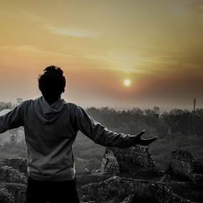 freedom by Madly Baangali - Landscapes Sunsets & Sunrises ( freedom, sunset, india, architecture, fort, Free, Freedom, Inspire, Inspiring, Inspirational, Emotion )