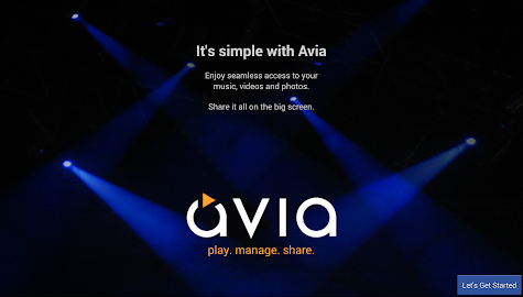 Avia Media Player (Chromecast) Screenshot 17
