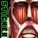 Attack on Titan Sticker icon