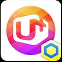 U+ LTE 카카오홈 스페셜 테마_HDTV 무료 영화 icon