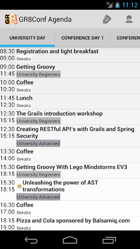 GR8Conf Agenda