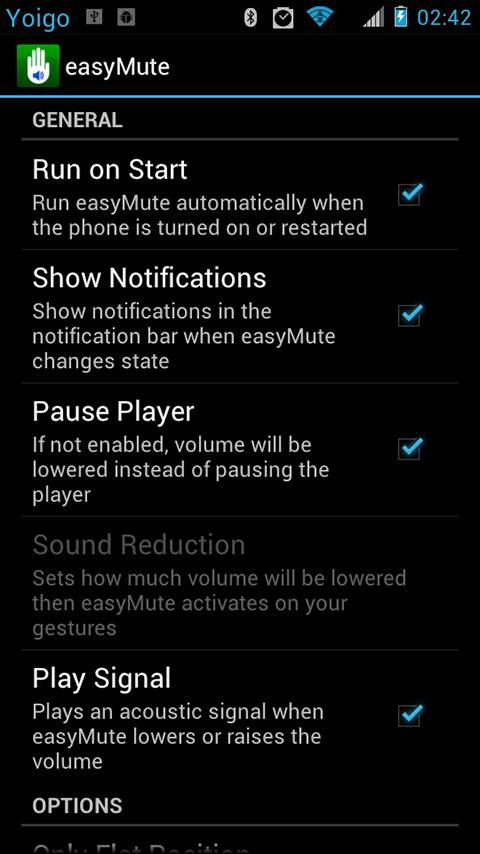 easyMute- screenshot