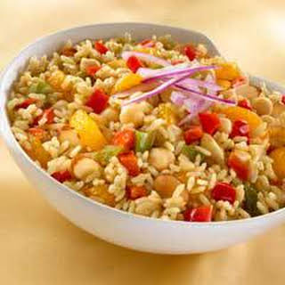 Tamarind Rice & Chick Peas.