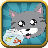 Fishy Kitty - Cat Swipe Ninja