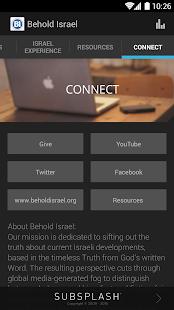 Behold Israel- screenshot thumbnail