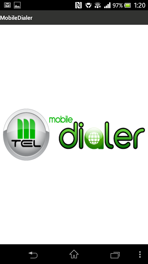 mTel Mobile Dialer - screenshot