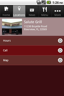 Salute Grill - screenshot thumbnail