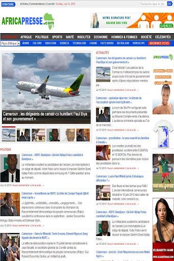 Africa Presse Cameroun Info