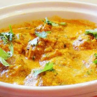 Malai Kofta Curry.