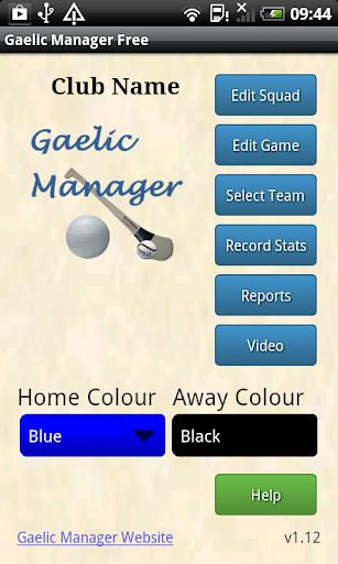 Gaelic Manager Free