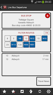 London Bus Master + Countdown - screenshot thumbnail
