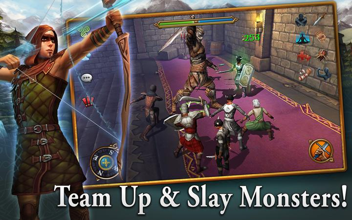 android 3D MMO Celtic Heroes Screenshot 15