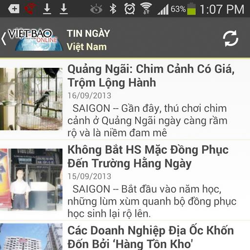 Viet Bao Online LOGO-APP點子