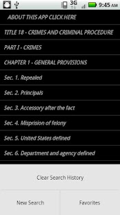 USLaw 18 USC - Criminal Law- screenshot thumbnail