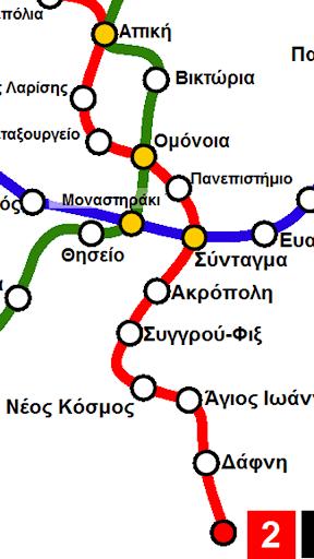 【免費交通運輸App】Μετρό Αθήνας-APP點子