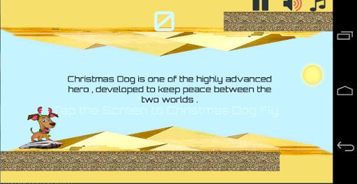 Christmas Dog Fly